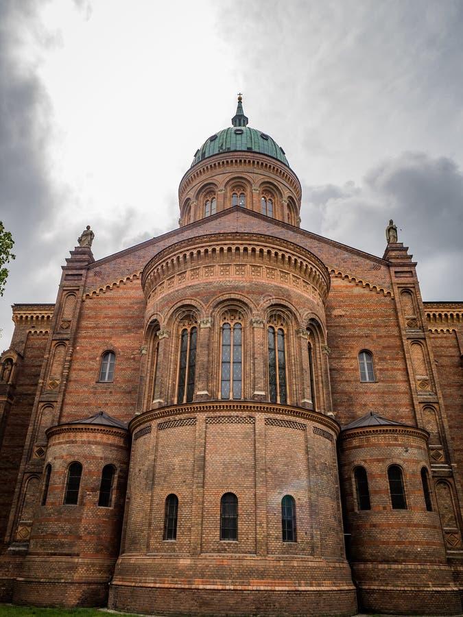 Michaelkirche w Berlin - tylnym obraz stock