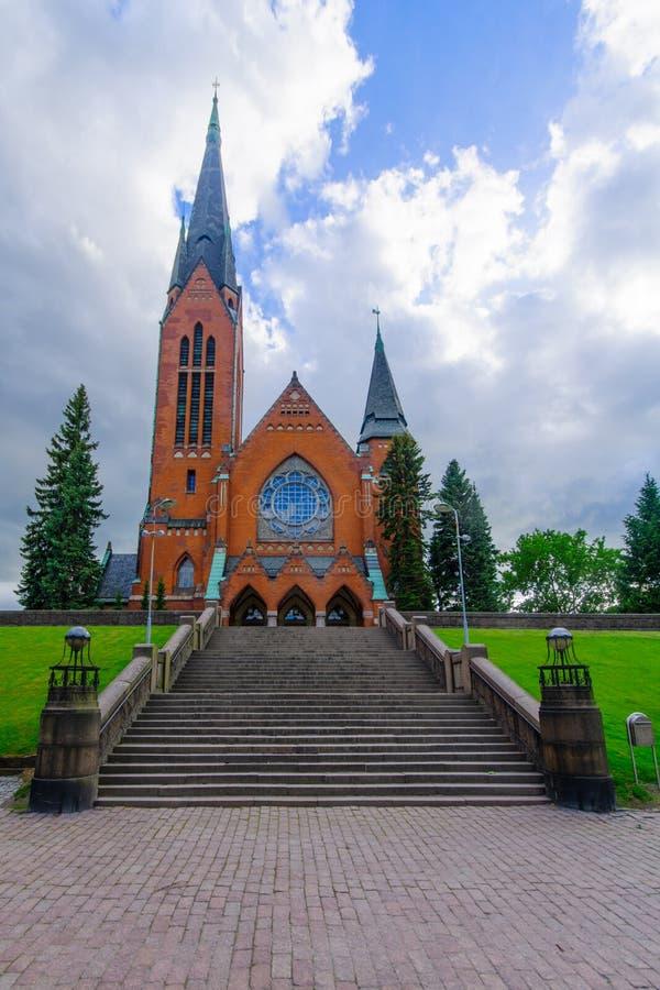 Michaels kościół w Turku, zdjęcia royalty free