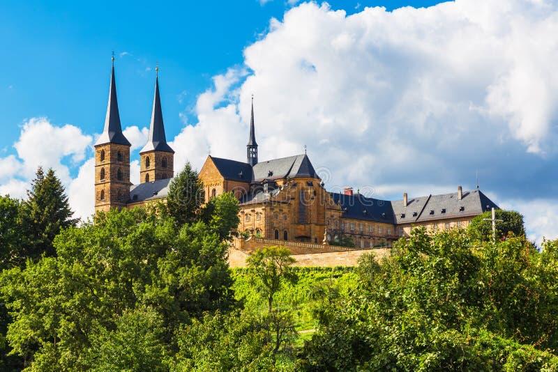 Michaelsberg修道院,琥珀,德国 免版税库存图片