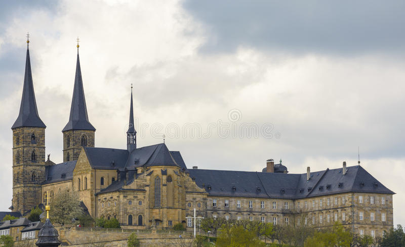 Michaelsberg monaster, Bamberg obrazy stock