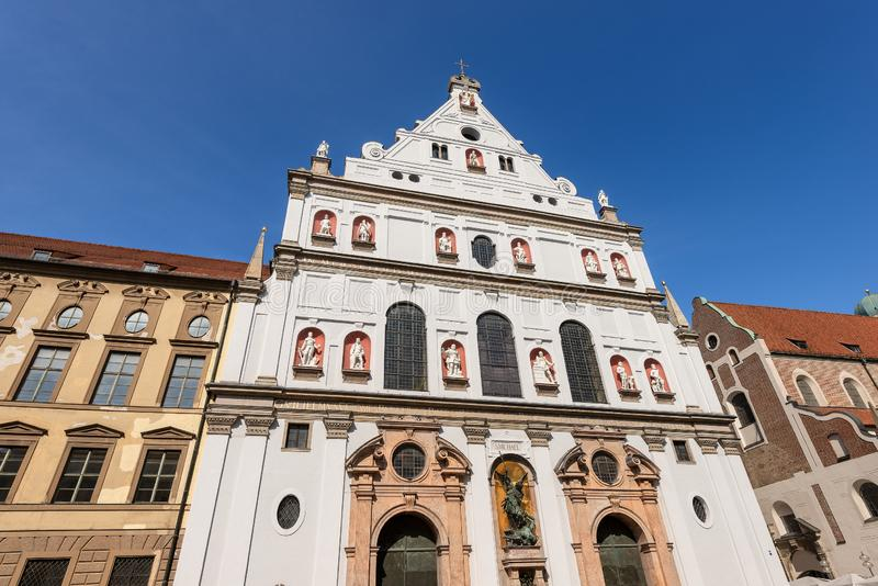 Michaelskirche - церковь St Michael - Мюнхена стоковые фото