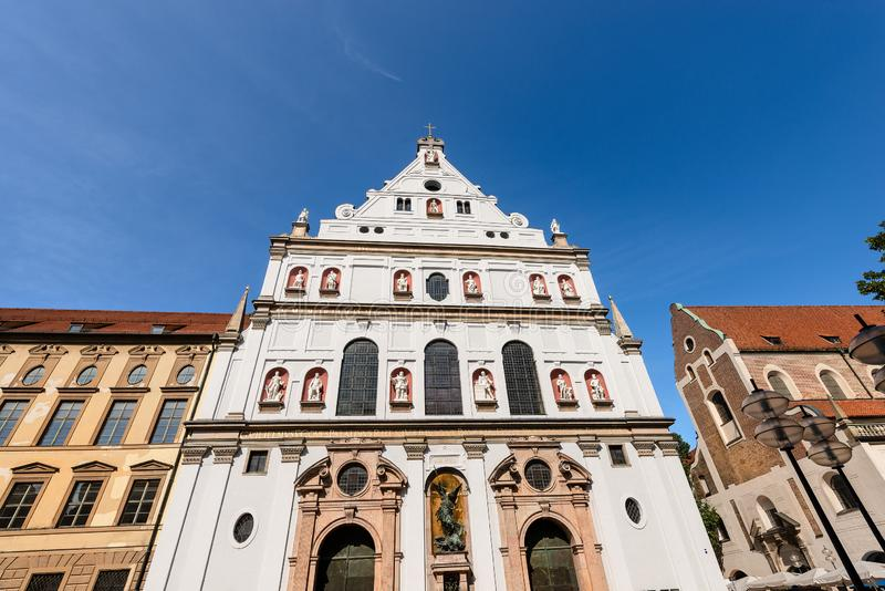 Michaelskirche - церковь St Michael - Мюнхена стоковые изображения