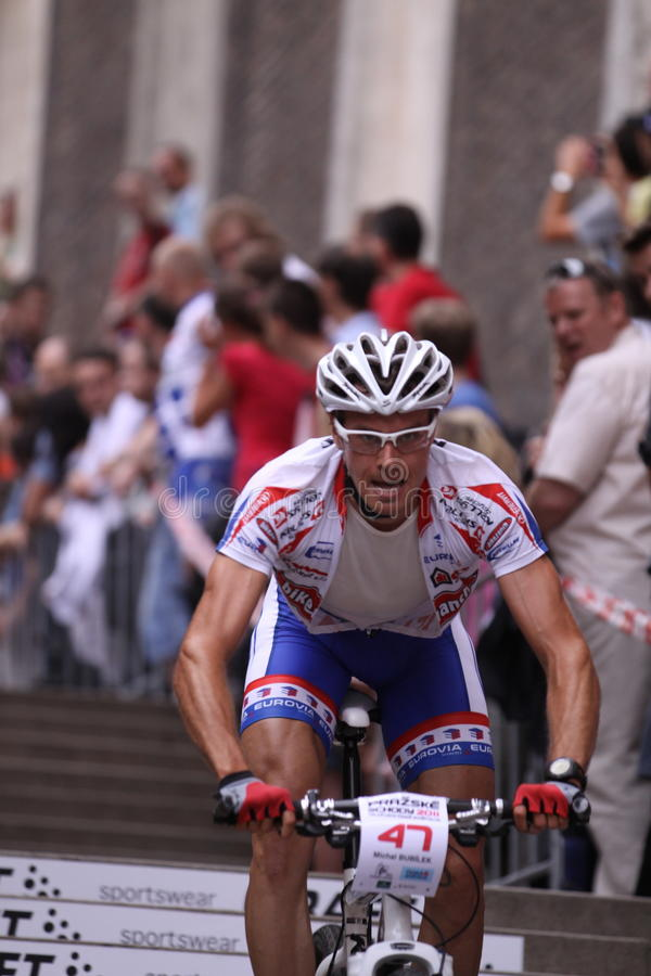 Download Michal Bubilek - Prague Bike Race 2011 Editorial Photo - Image: 19844461