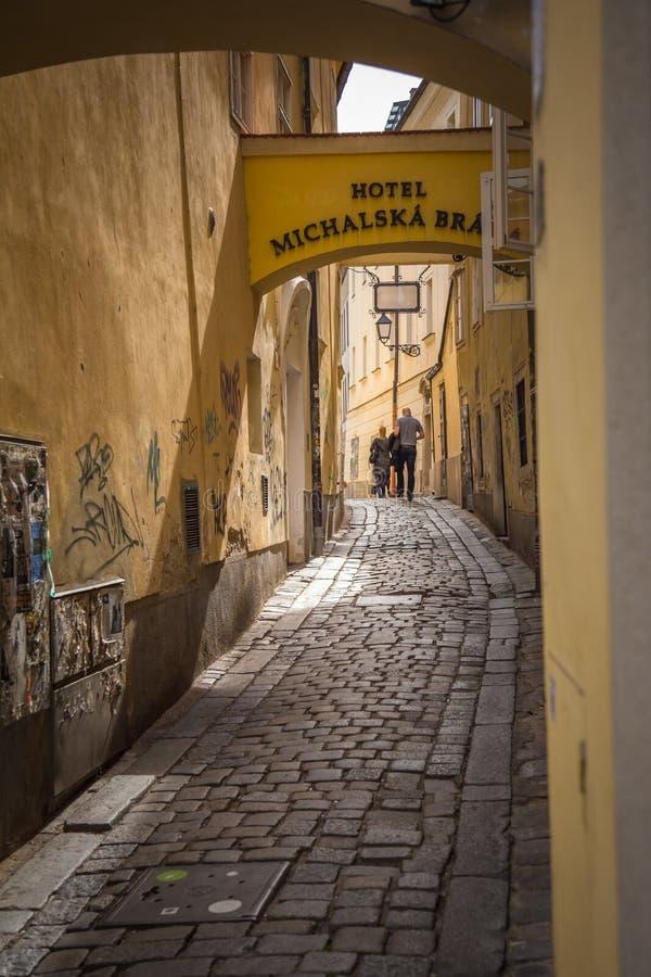 Michalska门步行 库存图片