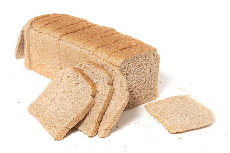 miche de pain rectangulaire photographie stock libre de droits