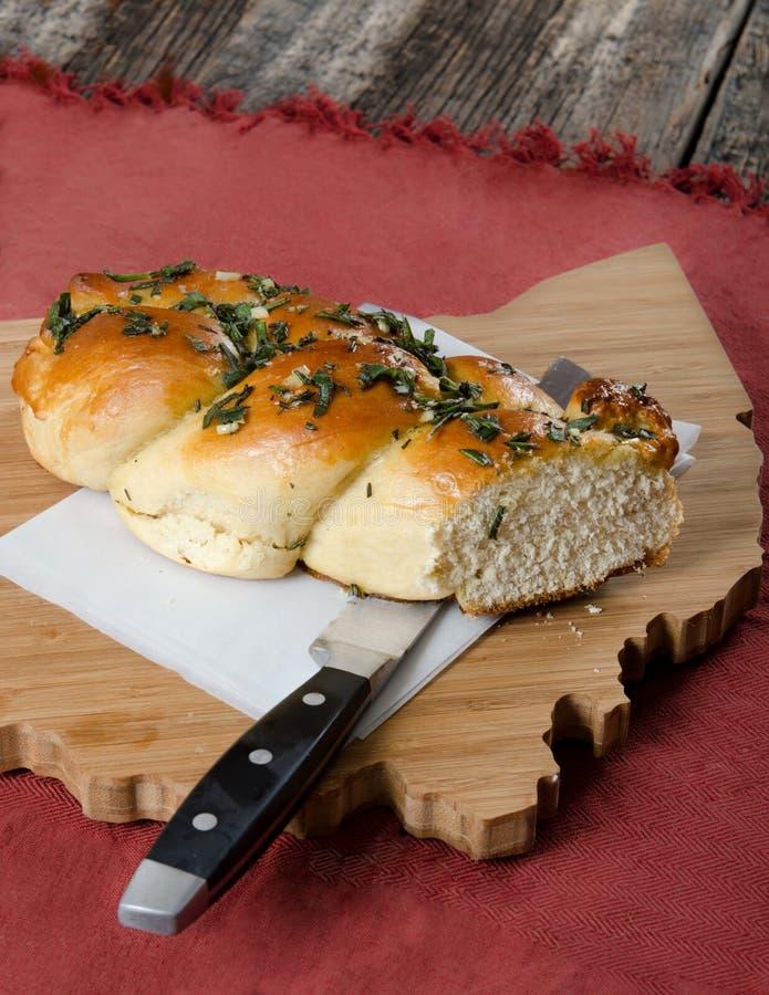 Miche de pain sur le conseil de l'Ohio photo stock