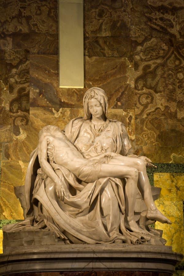 Michelangelo - Pieta imagen de archivo libre de regalías