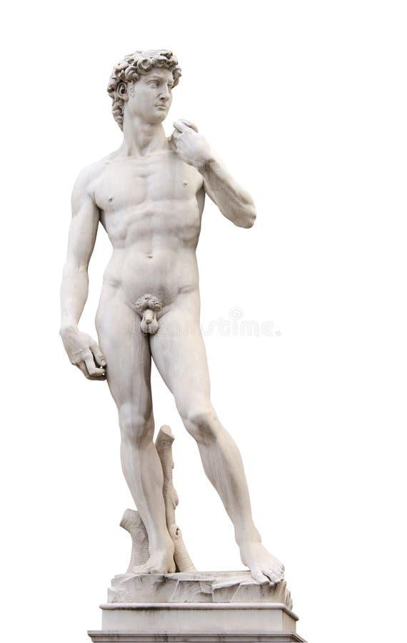 Michelangelo's David royalty free stock photography