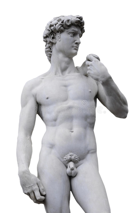Michelangelo's David, Florence Italy stock photos