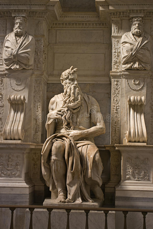 Download Michelangelo's Moses Royalty Free Stock Photos - Image: 23487458