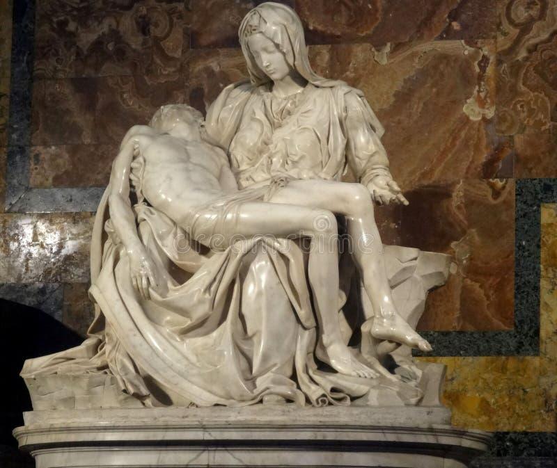 Michelangelo`s Pieta royalty free stock photo