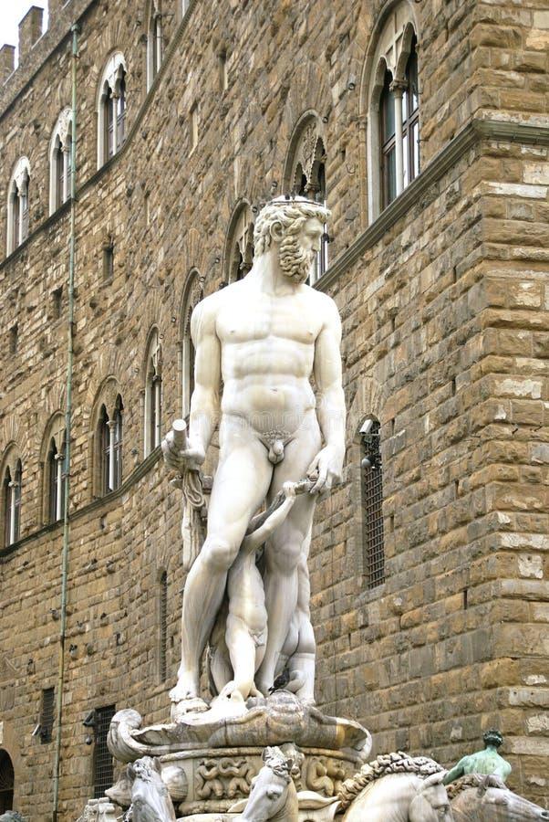 Michelangelos David stock afbeelding