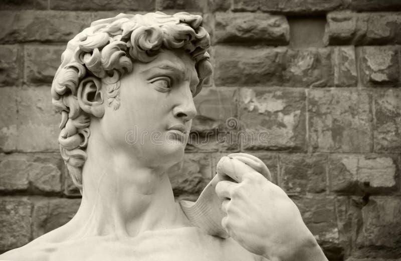 Michelangelos David, Florenz Italien lizenzfreie stockfotos