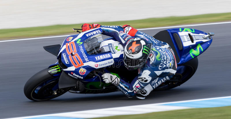 Michelin Australian Motorcycle Grand Prix 2016 imagens de stock