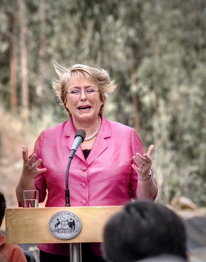 Michelle Bachelet stock image