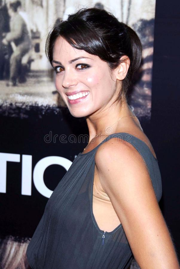 Michelle Borth. At the Los Angeles premiere of Rendition. Academy of Motion Picture Arts And Sciences, Beverly Hills, CA. 10-10-07 royalty free stock photography