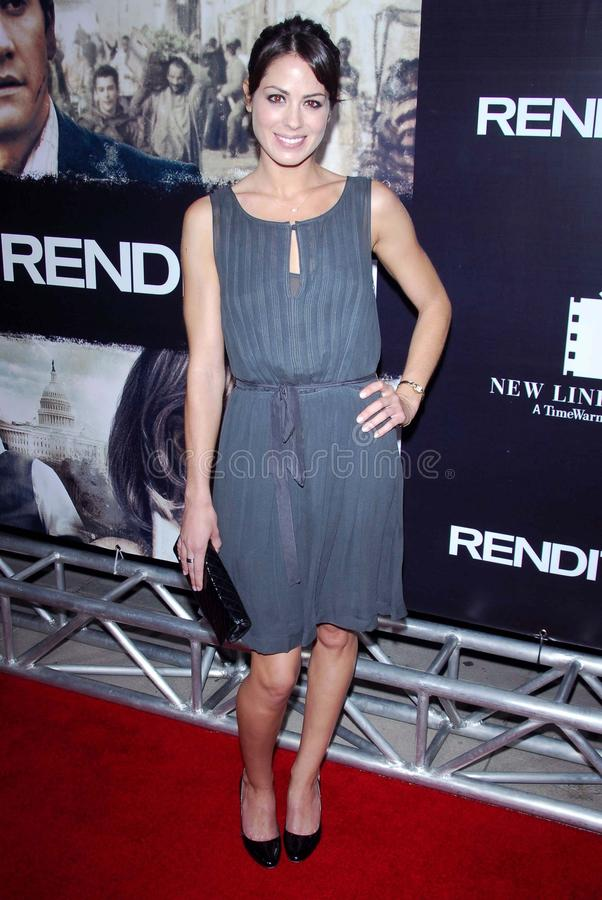 Michelle Borth. At the Los Angeles premiere of Rendition. Academy of Motion Picture Arts And Sciences, Beverly Hills, CA. 10-10-07 stock photo