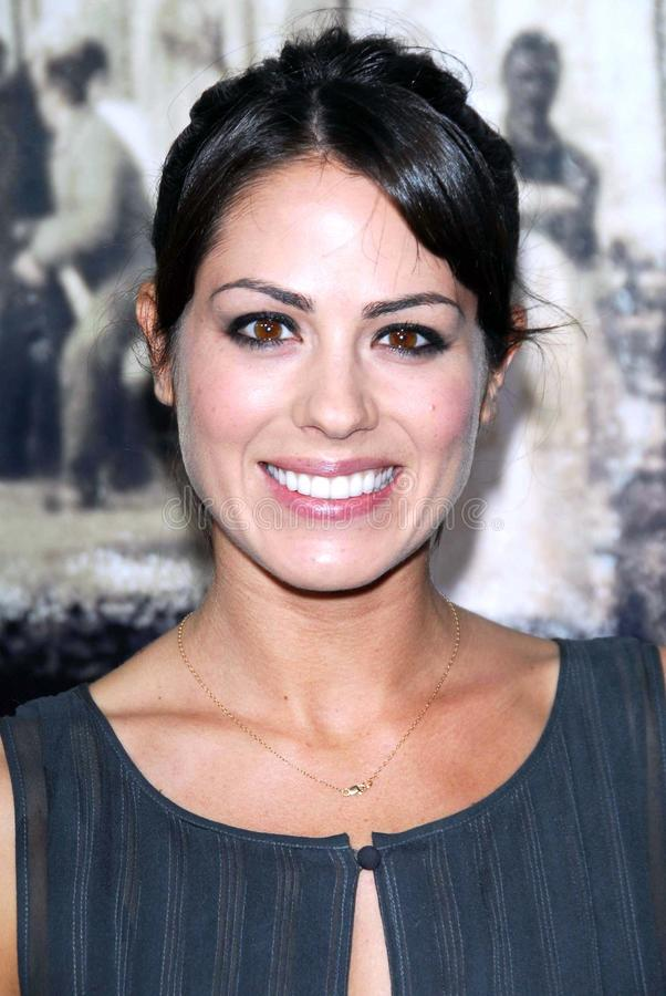 Michelle Borth. At the Los Angeles premiere of Rendition. Academy of Motion Picture Arts And Sciences, Beverly Hills, CA. 10-10-07 stock images