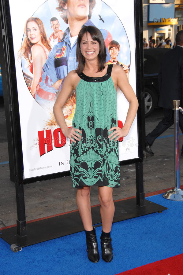 Michelle Borth. At the Los Angeles premiere of Hot Rod at the Grauman's Chinese Theatre, Hollywood. July 27, 2007 Los Angeles, CA Picture: Paul Smith / stock photo