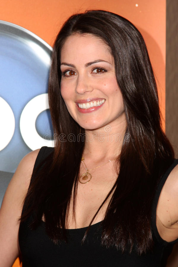 Michelle Borth. LOS ANGELES - MAY 14: Michelle Borth at the Disney ABC Television Group May Press Junket 2011 at ABC Building on May 14, 2011 in Burbank, CA stock photography