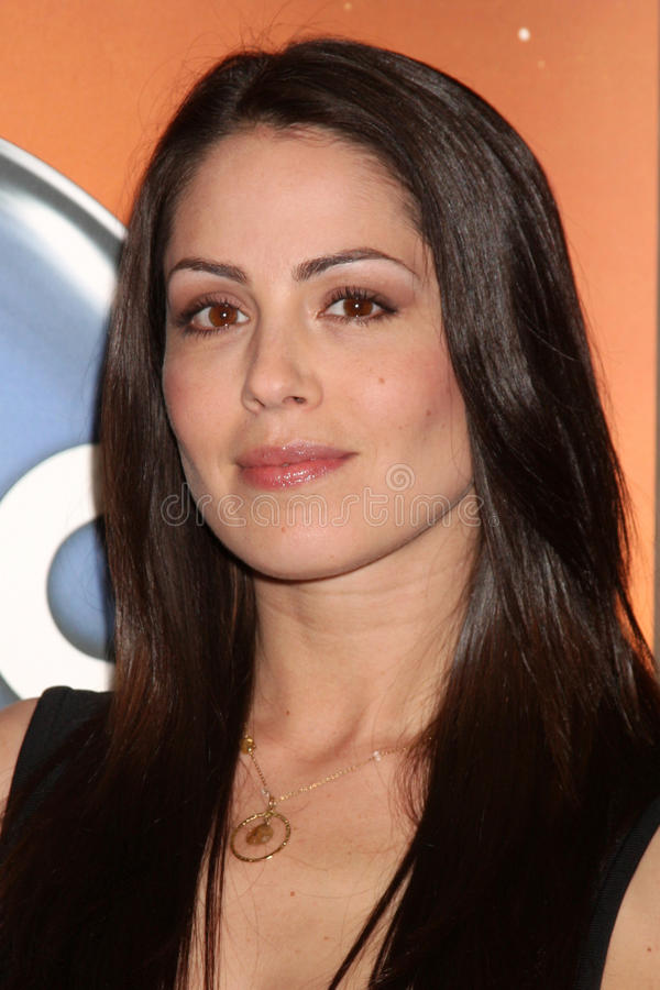 Michelle Borth. LOS ANGELES - MAY 14: Michelle Borth at the Disney ABC Television Group May Press Junket 2011 at ABC Building on May 14, 2011 in Burbank, CA stock image