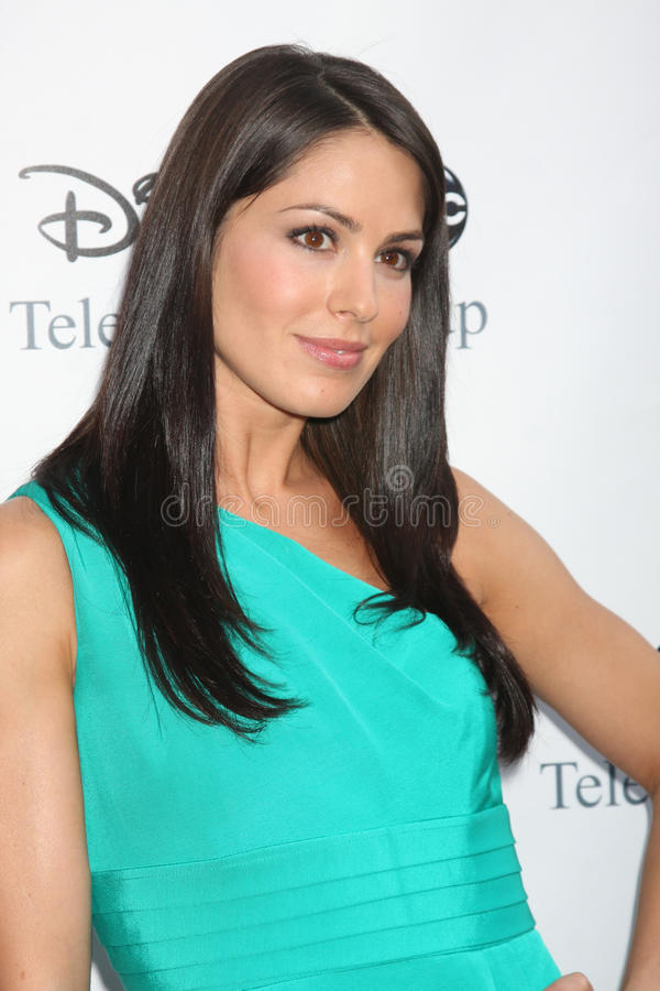 Michelle Borth. Arriving at the ABC TV TCA Party at The Langham Huntington Hotel & Spa in Pasadena, CA on August 8, 2009 stock image