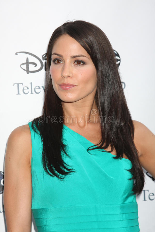 Michelle Borth. Arriving at the ABC TV TCA Party at The Langham Huntington Hotel & Spa in Pasadena, CA on August 8, 2009 stock images