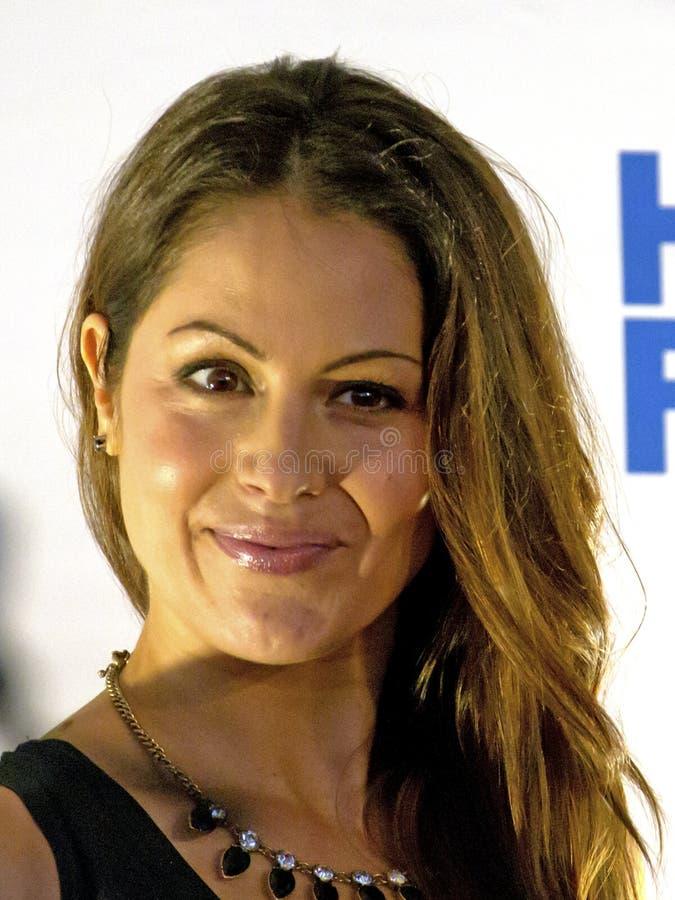 Michelle Borth. Event: Hawai'i Five-O Season 4 Premiere Location: Queen's Surf Beach, Waikiki, on the island of O'ahu, Hawai'i, USA, 26.IX.13 Subject: Actress stock images