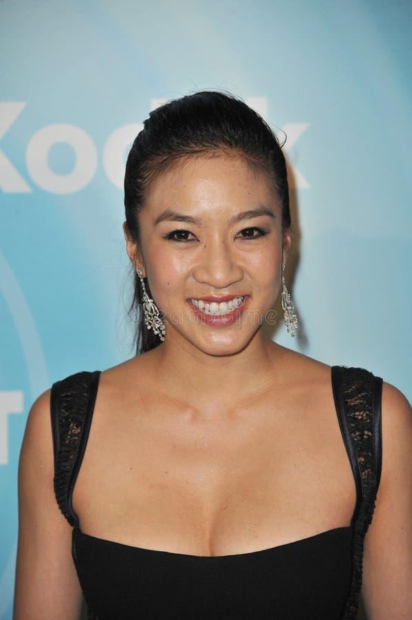 Michelle Kwan image libre de droits