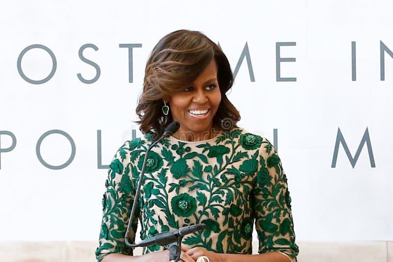 Michelle Obama stock fotografie