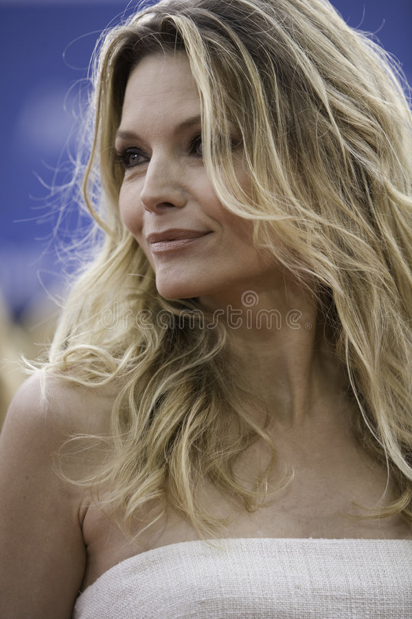 Michelle Pfeiffer 2 stock photography