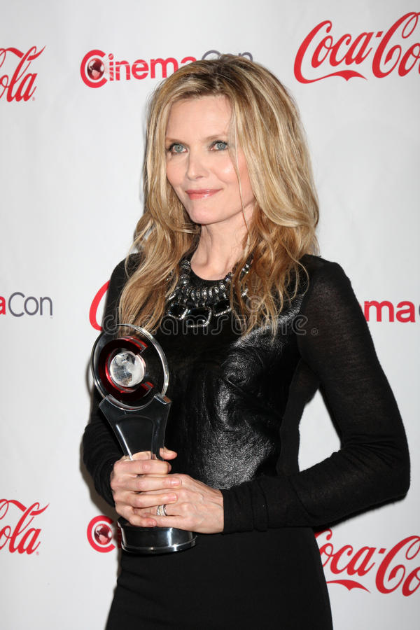 Download Michelle Pfeiffer Arrives At The CinemaCon 2012 Talent Awards Editorial Photography - Image: 25373507