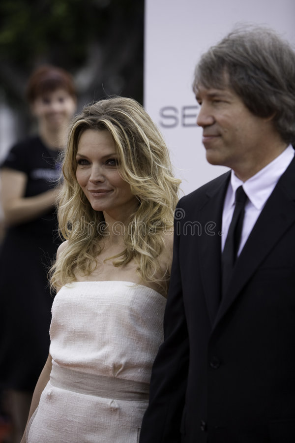 Download Michelle Pfeiffer And David E. Kelley Editorial Photography - Image: 4246992