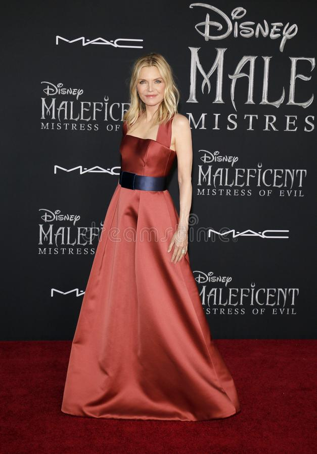 Michelle Pfeiffer stock photo