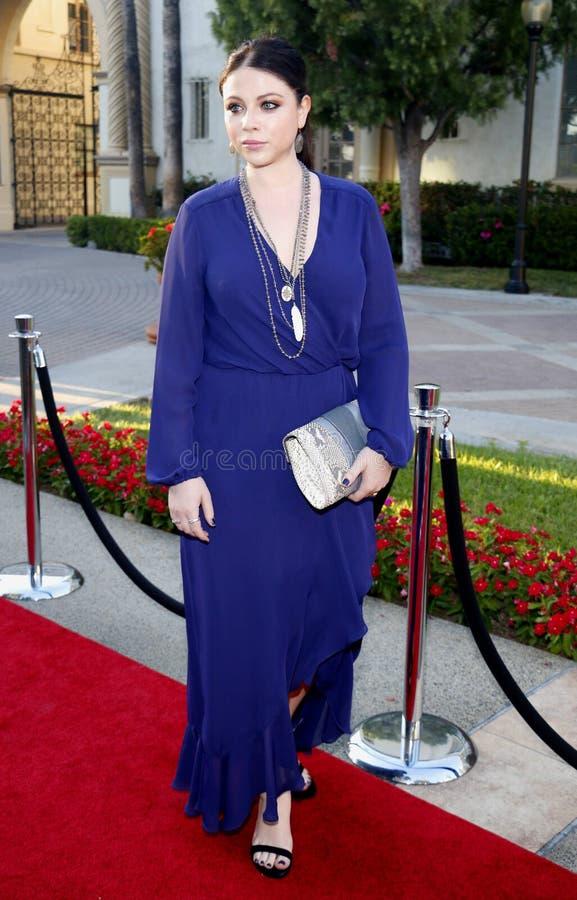 Michelle Trachtenberg fotos de stock royalty free