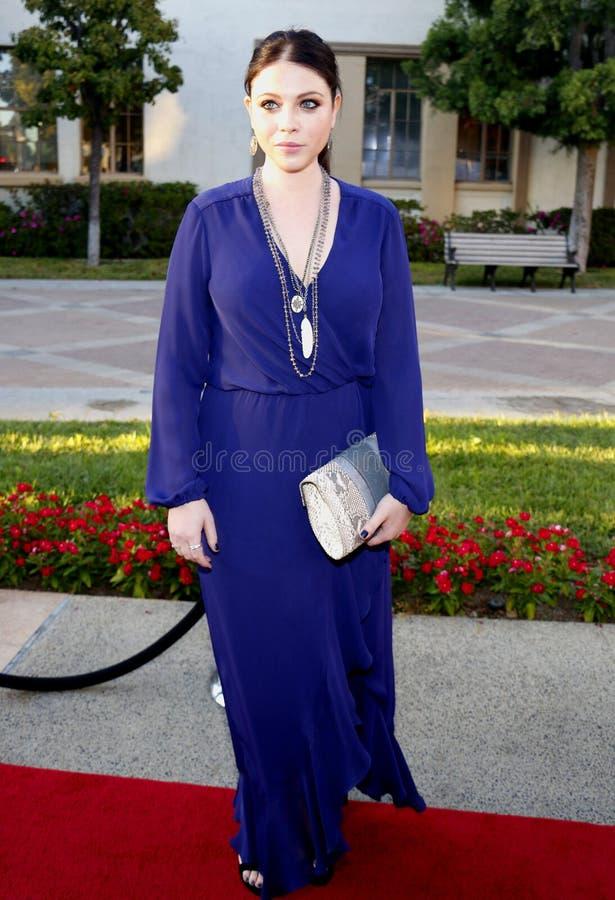 Michelle Trachtenberg foto de stock