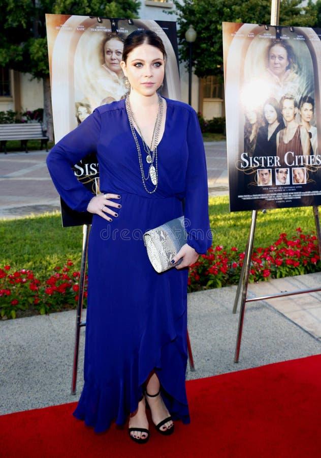 Michelle Trachtenberg fotografia de stock royalty free