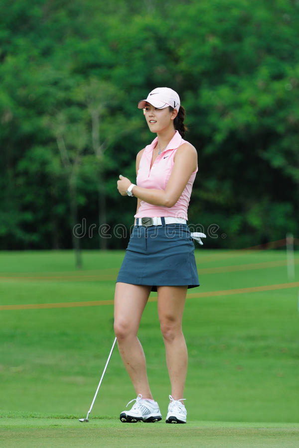 Free Michelle Wie At Honda PTT LPGA Tour THAILAND 2010 Royalty Free Stock Photography - 13138627