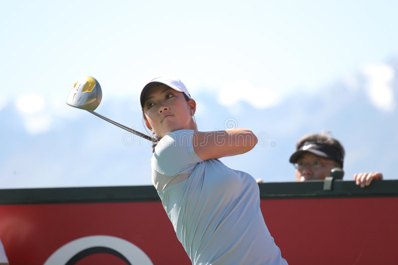 Download Michelle Wie, Crans Montana Masters 2006 Editorial Stock Photo - Image: 4333008