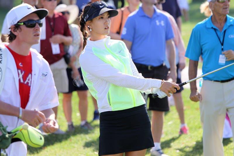 Michelle Wie på turneringen 2015 för ANA inspirationgolf royaltyfria foton
