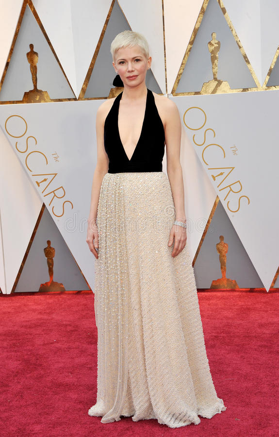 Michelle Williams. At the 89th Annual Academy Awards held at the Hollywood and Highland Center in Hollywood, USA on February 26, 2017 royalty free stock photos