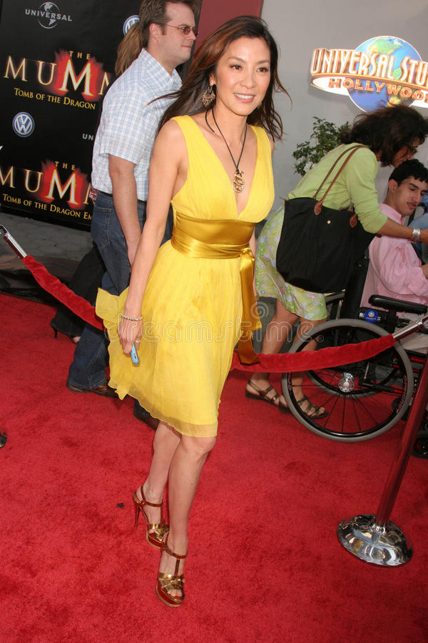 Michelle Yeoh fotos de stock royalty free