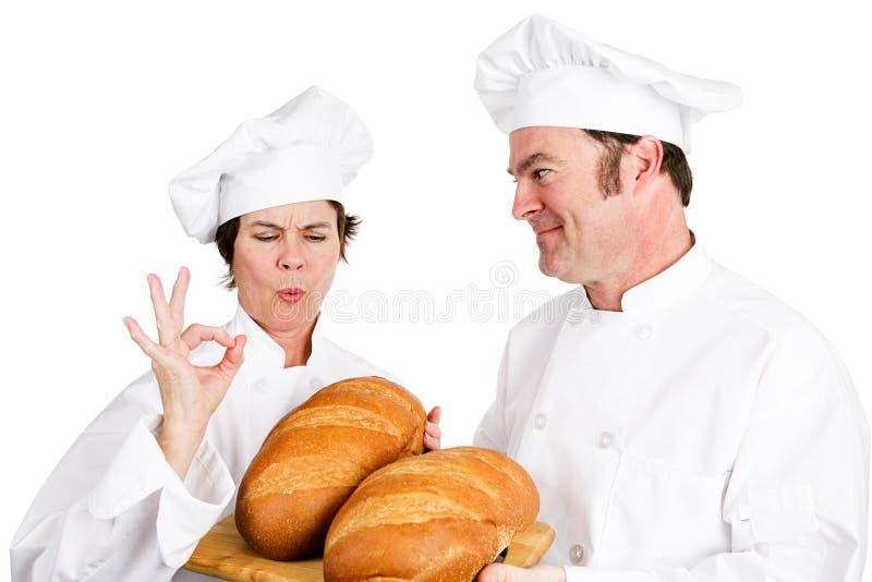 Miches de pain de chefs photo libre de droits