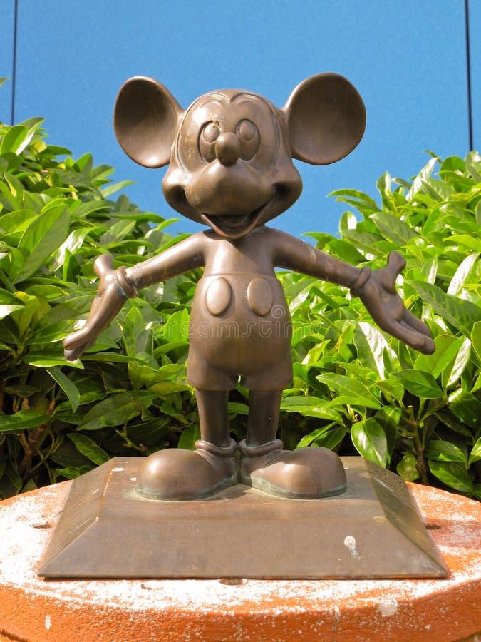 Michey Disneylâandia Paris 1ö Anniversarry imagens de stock royalty free