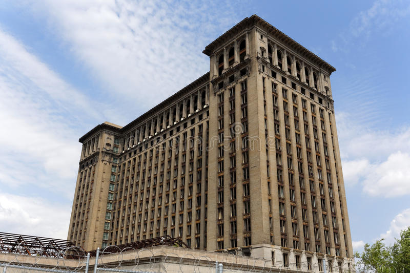 Michigan Central Station stock photo
