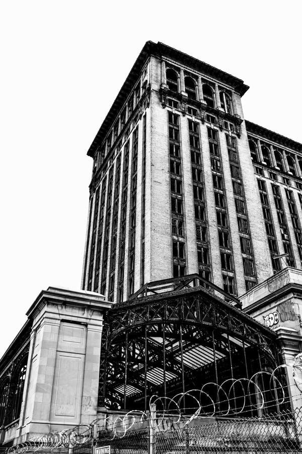 Michigan centralstation arkivbild