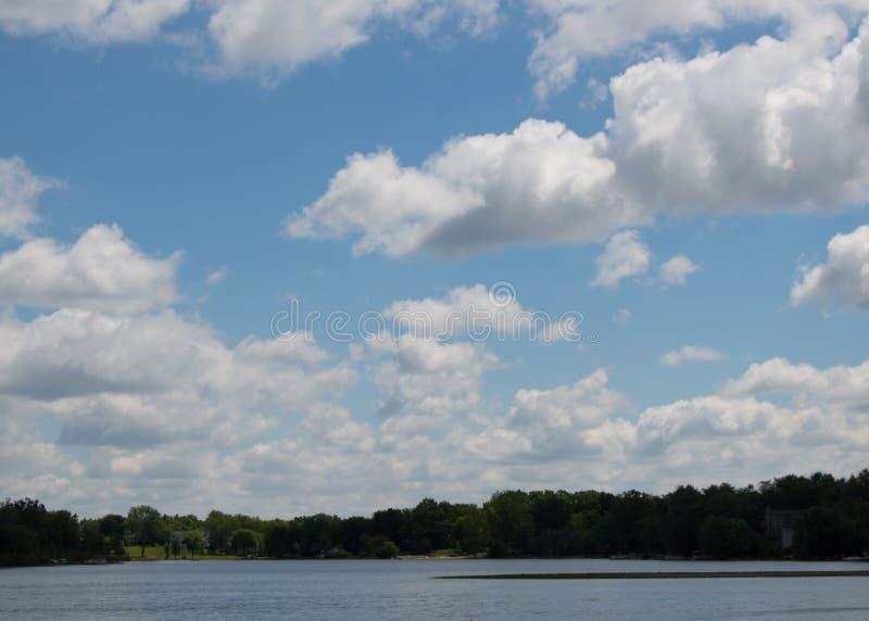 Michigan himmel arkivbild