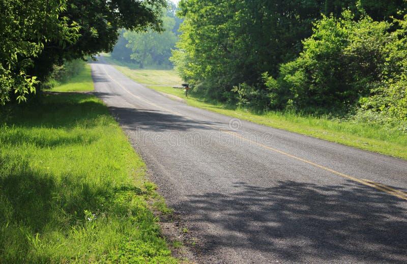 Michigan landsvägar 19 royaltyfri foto