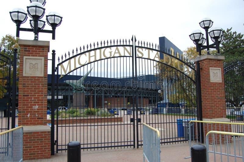 Michigan Stadium Ann Arbor, Michigan EUA fotos de stock royalty free