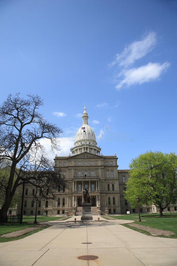 Download Michigan State Capitol Building Stock Image - Image: 14860403